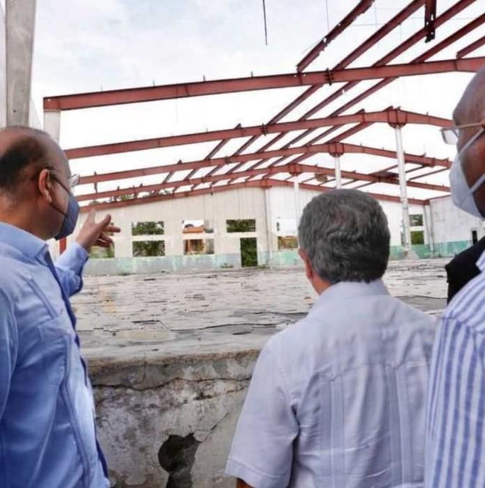 Reinician remoción  Zona Franca de Higüey