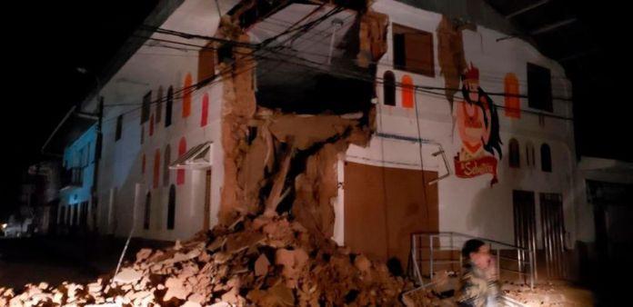 (VIDEOS): Fuerte sismo de 6.0 sacudió Perú