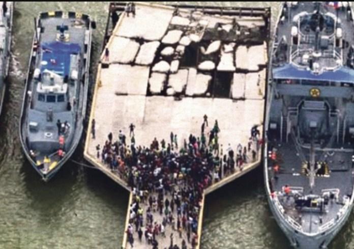 Bandas atacan barcos mexicanos con ayuda humanitaria por sismo