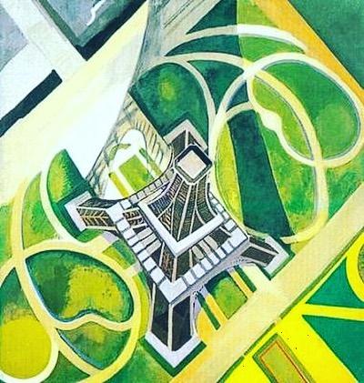 Robert Delaunay  Tour Eiffel   Bavartdages