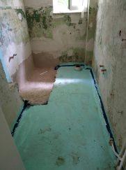 Batroom flooring