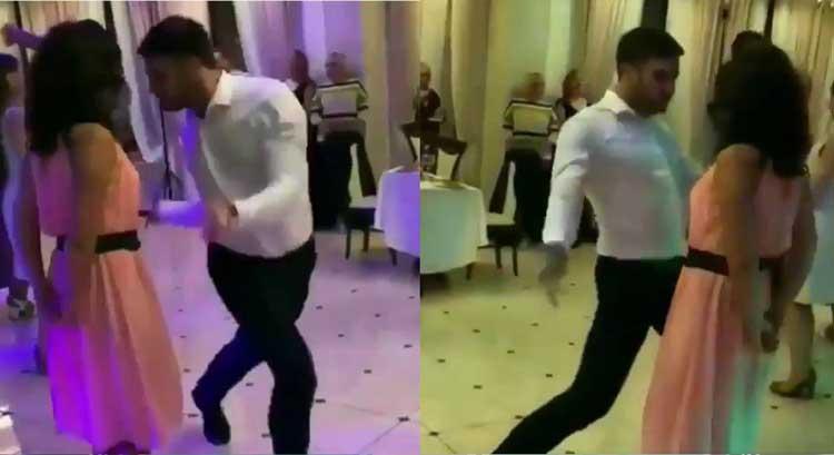 Հարսանիքի ժամանակ հայ տղայի չափից դուրս էներգետիկ պարը աղջկան անհարմար դրության մեջ դրեց․ տեսանյութ