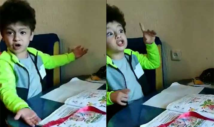 «Ո՞վ ա տեսել առաջին դասարանցուն էսքան դաս տան»․ տղային հունից հանել են իր դասերը․ զվարճալի տեսանյութ