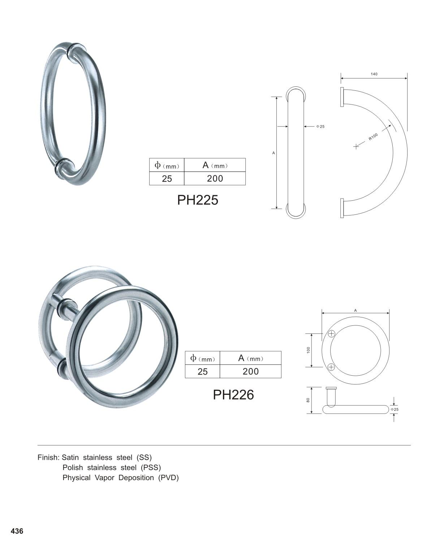European Design Door Pull Handles China Manufacturer
