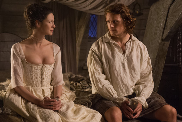 Outlander Honeymoon Scene