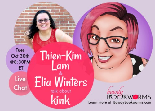 Chat with Elia Winters on Kink & Romance!
