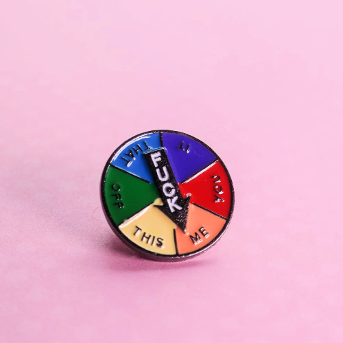 F*ck Me Spinner Pin