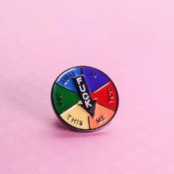 F*ck Me Spinner Pin