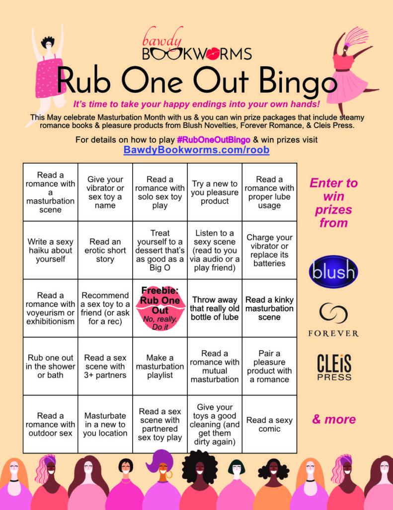 Rub One Out Bingo Card