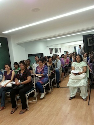 Workshop attendees for Parsi Food workshop