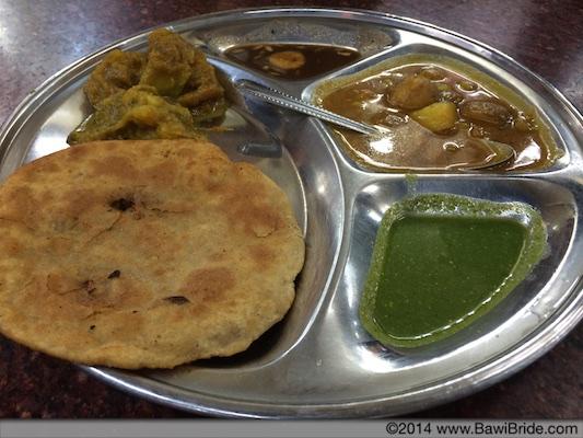 Nimbu Paratha from Paranthewali galli