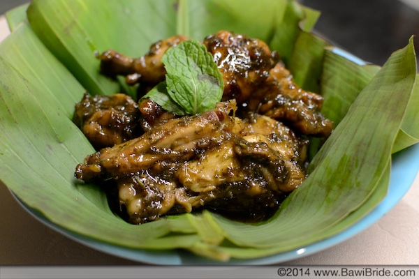 Choi Fudna (Mint-Lemongrass) Chicken wings