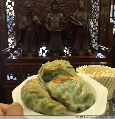 Pork and Chive Dumplings__Bawi Bride Guangzhou Eating Adventures