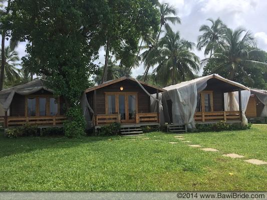 Beach Cabanas at bay 15
