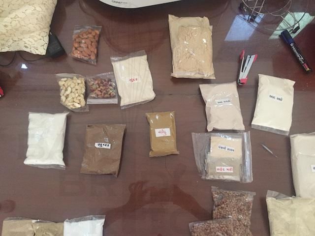 Separating Ingredients for Vasanu