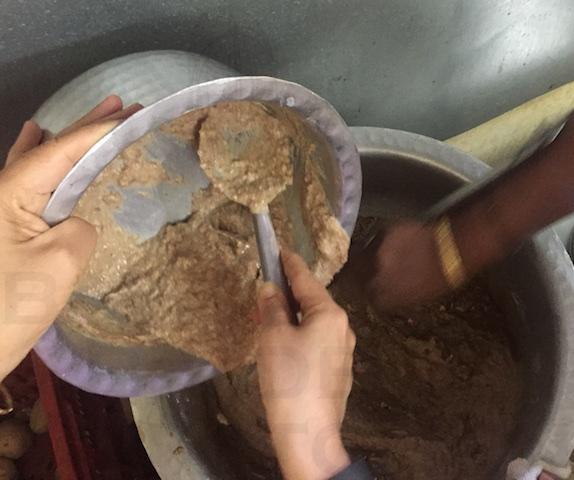 Add Date-Milk into Vasanu Mix