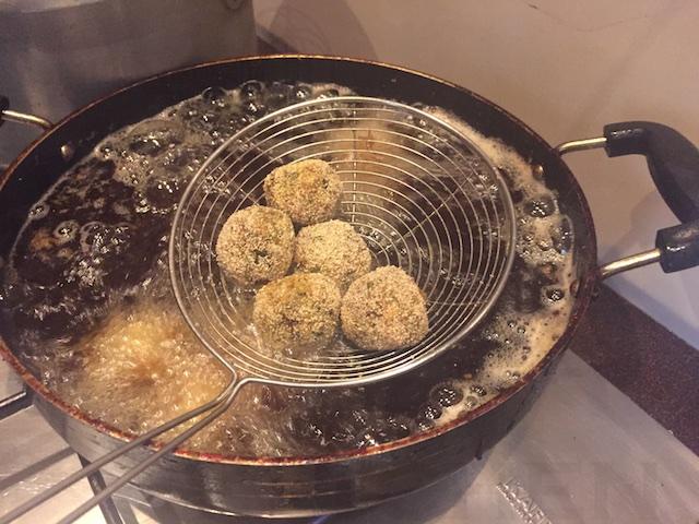 Deep Fried Boomla na Kebabs
