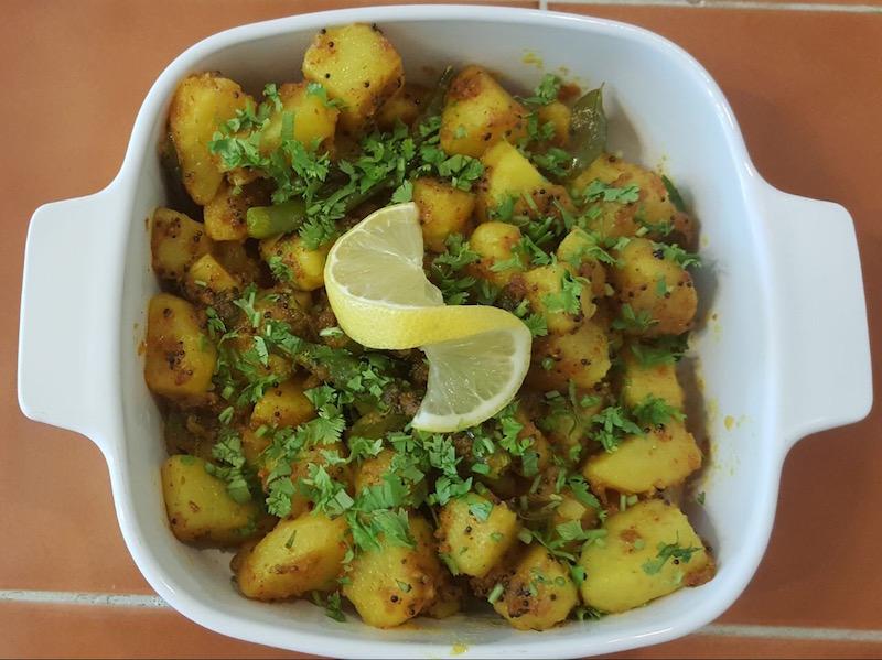 Parsi Style Hing Rai Potatoes