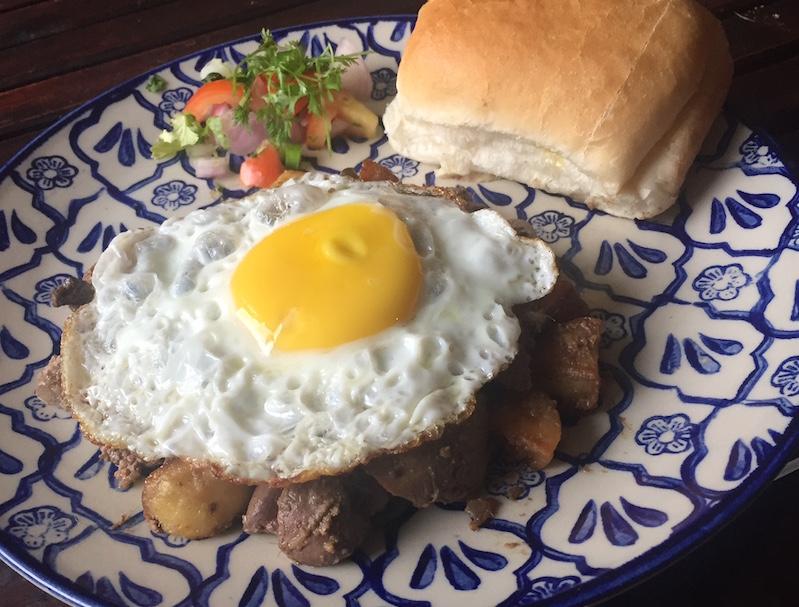 Khari Kaleji per Eedu - A to Z of Parsi Food