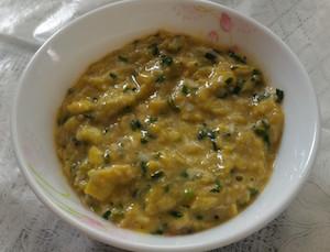 Parsi Green Garlic Leela Lasan Akoori