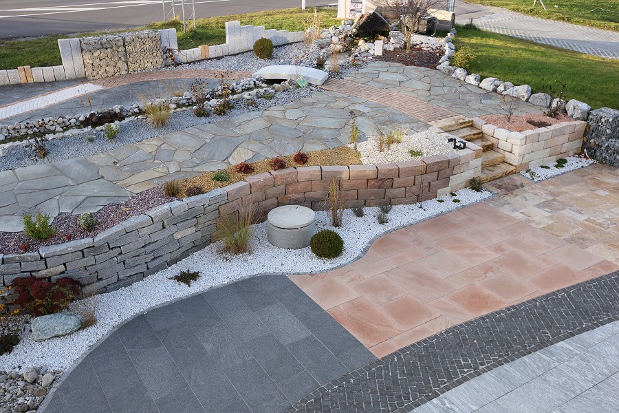 Terrasse Im Garten Gestalten