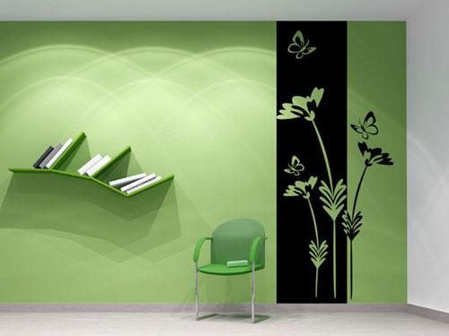 Kreative Ideen Wandgestaltung  Mbel Wohntrends Licht
