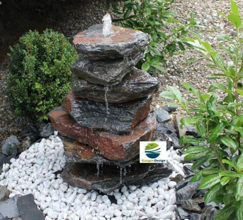 wandbrunnen selber bauen » terrassenholz,