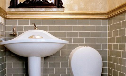 Planung von WC und Bidet