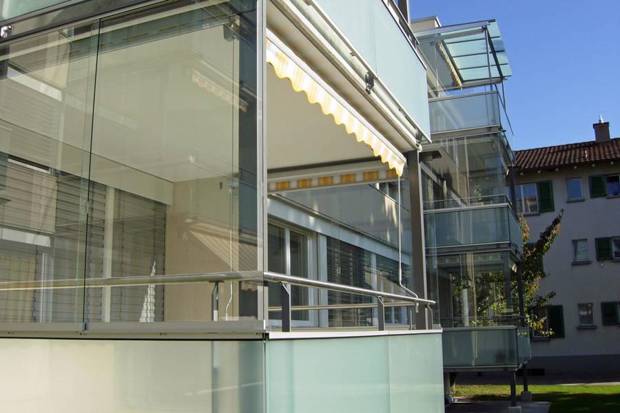 balkonverglasung selbst machen bauen und wohnen in der schweiz. Black Bedroom Furniture Sets. Home Design Ideas