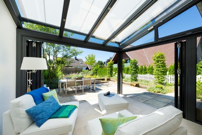 einrichtung wintergarten bauen und wohnen in der schweiz. Black Bedroom Furniture Sets. Home Design Ideas
