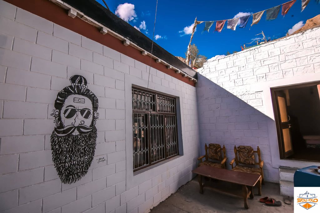 Art of Spiti valley at Solo Yolo Homestay