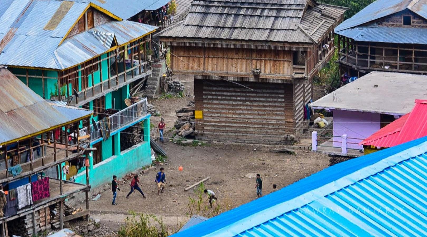 The temple of Malana Village
