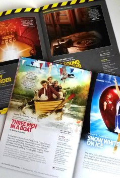 A selection of programmes Chris Jordan has organised and brought together as Artistic Director of Eastbourne Theatres.