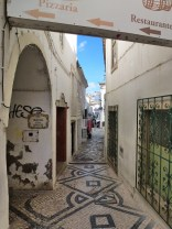 Through the old town alleys