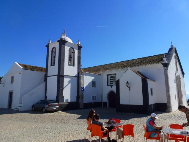 Cacela Velha church and square