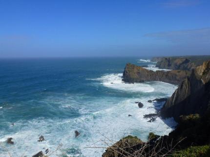 Cliffs at Arrifana