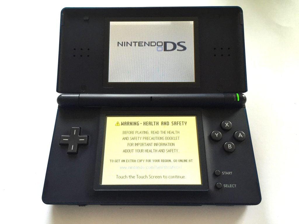 Nintendo DS lite Turquoise Console  Baxtros