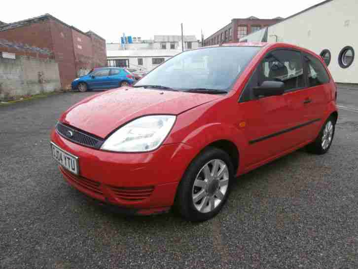 Ford 2004 Fiesta Finesse Red Spares Repairs 1 2 Petrol No