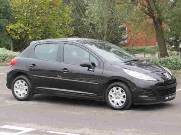 Peugeot 2010 207 1 4hdi 30 Tax Long Mot Stunning Example Car For Sale