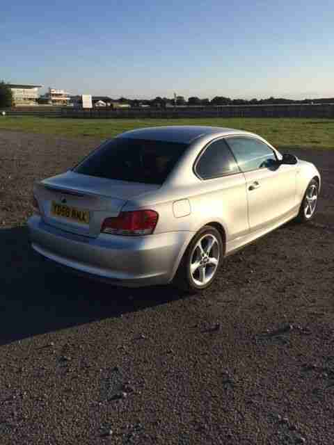 Bmw 120d Se Coupe 1 Series Auto, Heated Red Leather
