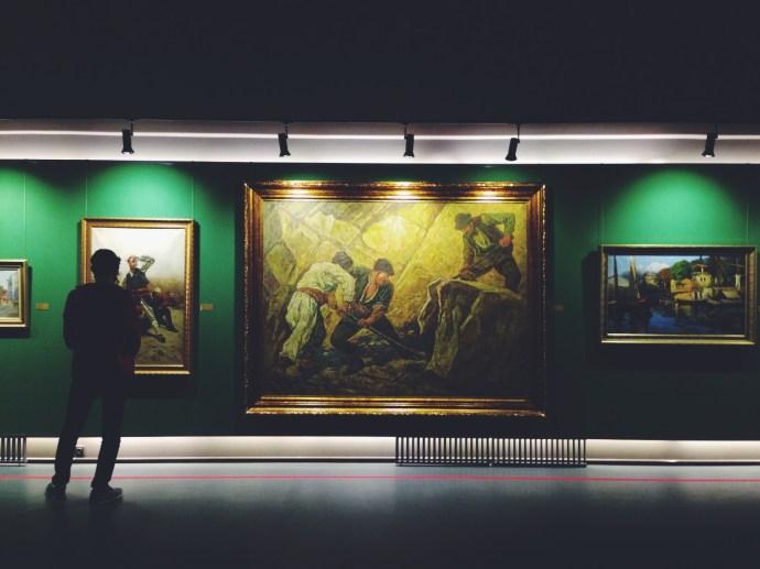 Elvah-ı Nakşiye'den Günümüze MSGSÜ Resim ve Heykel Müzesi Koleksiyonlarından Seçkiler