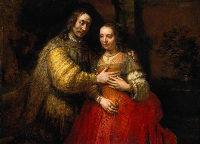 Isaac and Rebecca - The Jewish Bride (1667)