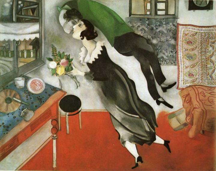 Marc Chagall - Birthday (1915)