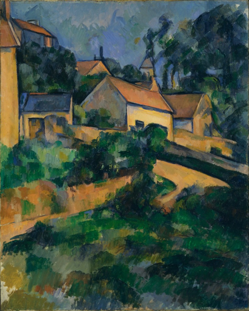 Paul Cezanne - Turning Road at Montgeroult (1898)