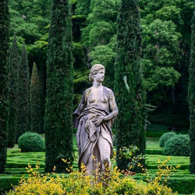 Fotoğraf Hikayeleri: Verona Giusti Bahçesi
