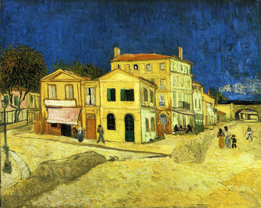 The Yellow House, Vincent Van Gogh, Van Gogh Museum, Amsterdam, Hollanda
