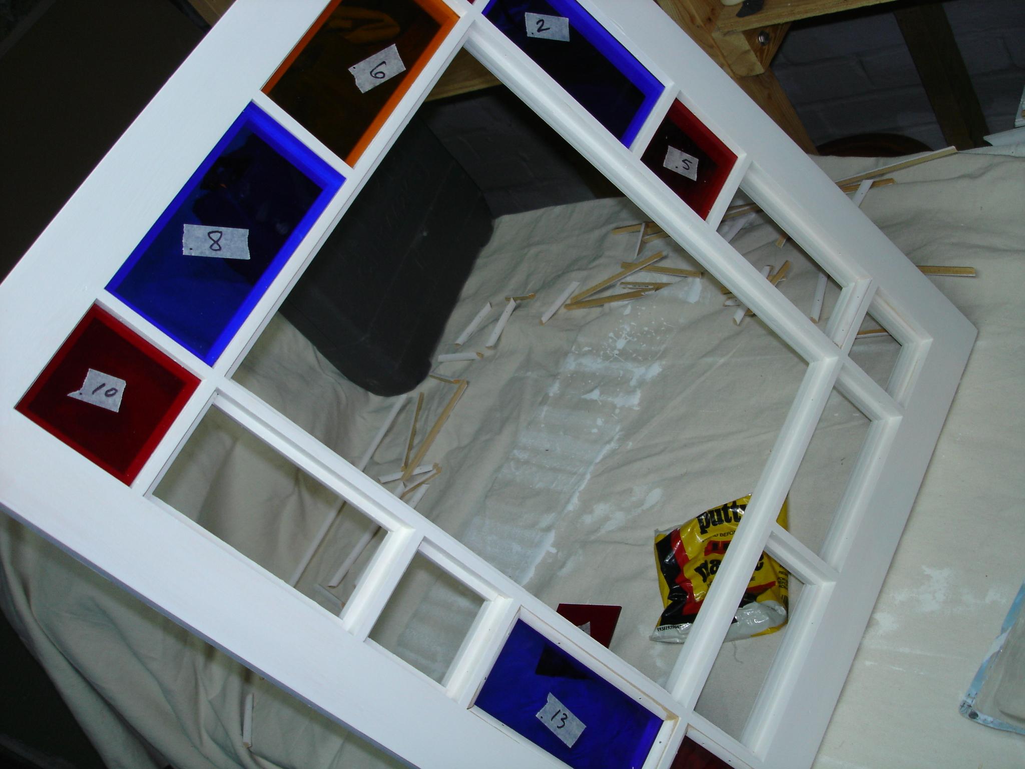 Reproduced Casement Window