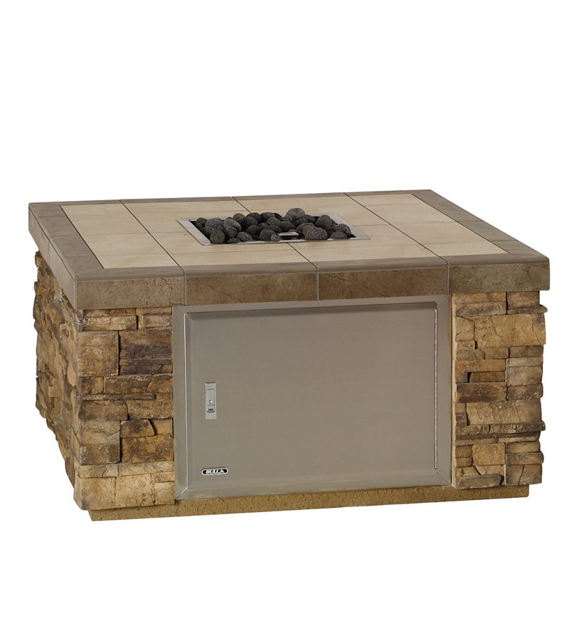 Large Square Fire Pit  Bay Area BBQ Islands