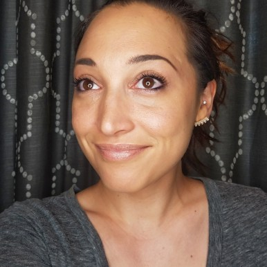 Five Minute Full Face of Makeup Tutorial, Finished Look