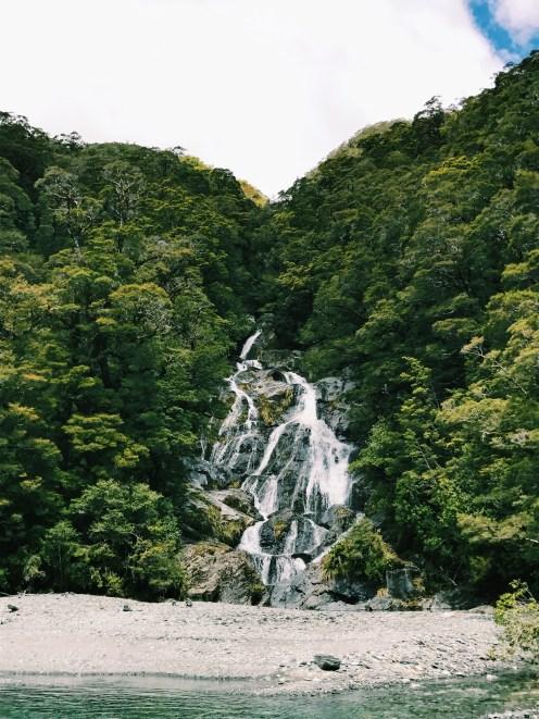 Fantail Falls New Zealand Haast Pass